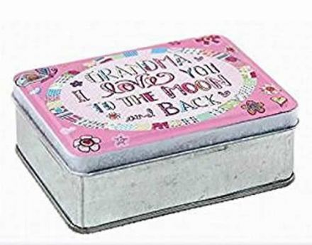 Grandma I Love You To the Moon and Back Tin Box